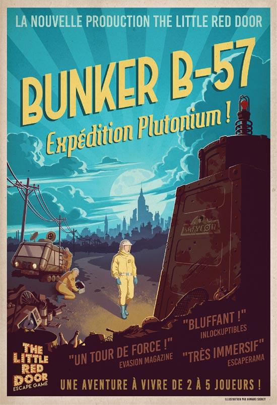 Bunker B-57 : Expédition Plutonium